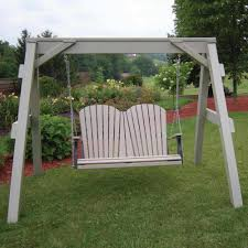 Porch Swing With Stand Berlin Gardens A Frame Support For Porch Swings Dfohome