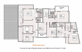 4 bedroom floor plans 2 story superb two story 6 bedroom house plans 2 south africa 15