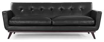 kardiel jackie midcentury modern classic sofa aniline leather