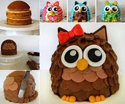 owl cake owl cake recipe and tutorial diy cozy home