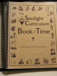 the sonlight curriculum book of time a blank time line from 5000