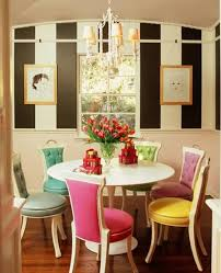 Different Color Dining Room Chairs Colored Dining Chairs Enhance Impressive And Dynamics Dining