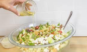 Pasta Salas Simple Greek Pasta Salad Easy 20 Minute Recipe