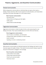 passive aggressive and assertive communication preview new