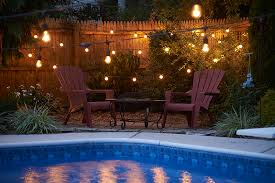 String Lighting For Patio Commercial Outdoor String Lights Ideas