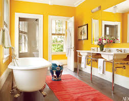 Yellow Bathroom Decor by Download Colorful Bathroom Decor Slucasdesigns Com