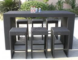patio furniture pub table sets archives formabuona intended for