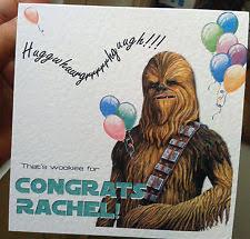 Star Wars Congratulations Card Cards U0026 Stationery In Occasion Congratulations Theme Star Wars Ebay