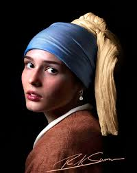 girl pearl earing revisiting my girl with a pearl earring photograph rick sammon