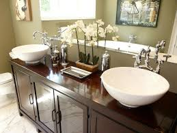 bathroom vessel sink ideas bathroom sinks and vanities hgtv