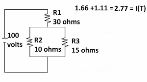 series parallel circuits how to find voltages of resistors and