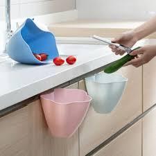 Kitchen Cupboard Garbage Bins by Multifunction Kitchen Cupboard Door Hanging Garbage Cans Desktop
