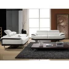 la maison du canapé canapé cuir 2 places osmoz la maison du canapé pas cher à prix auchan