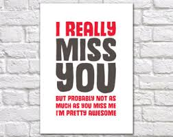 i miss you cards miss you cards etsy uk