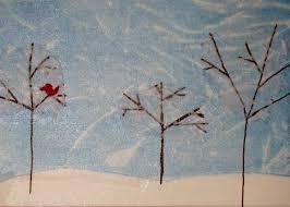 angela lace tree painting kid s class