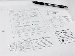 12 remarkable wireframe examples of landing pages mockup builder