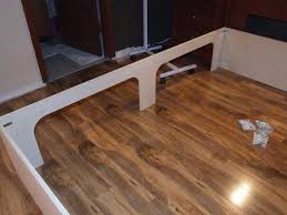 how to build a platform bed with storage drawers image of free