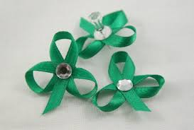 shamrock ribbon easy ribbon shamrock pins 30 minute crafts