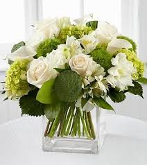white floral arrangements custom floral arrangement form