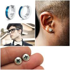 earrings men men earrings as jewelry for large and small boys hum ideas