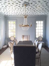 wallpaper ideas for dining room 25 best wallpaper ceiling ideas ideas on navy photo of