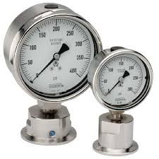 sanitary 10 series fractional sanitary pressure gauges