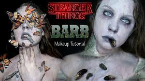 barb stranger things inspired halloween makeup tutorial youtube