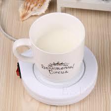 chauffage bureau bureau maison utiliser électrique chauffe tasse café lait