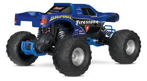 toy bigfoot monster truck amazon com traxxas bigfoot 1 10 scale ready to race monster