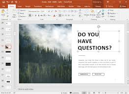 how to make an u201cany questions u201d final powerpoint slide ppt