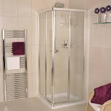 Modern Bathroom Showers by Bathroom Interesting Corner Shower Kit With Rain Shower For