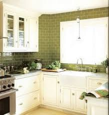 green glass tiles for kitchen backsplashes gorgeous green 6 backsplashes to envy