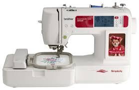 black friday 2017 sewing embroidery machine amazon brother simplicity sewing and embroidery machine white sb7050e