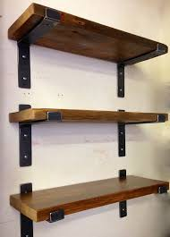Making Wooden Bookshelves by Best 25 Shelf Supports Ideas On Pinterest Farmhouse Furniture