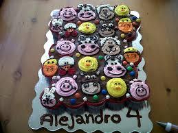 farm animals cupcake cake cupcakes pinterest