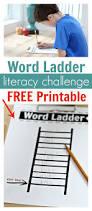 free word ladders literacy printables free homeschool deals
