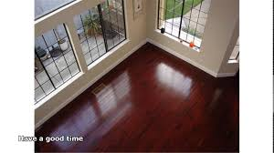 Cherry Wood Laminate Flooring Brazilian Cherry Hardwood Floor Youtube