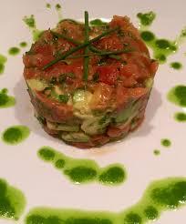 tartare cuisine tomato tartare