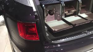 2017 bentley bentayga trunk champagne cooler in bentley bentayga mulliner geneva motorshow