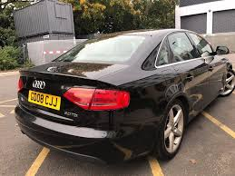 audi a4 2 0 tdi manual hpi clear 2 owners fsh black similar bmw