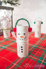 Recycled Crafts For Kids Craftaholics Anonymous Diy Toilet Paper Roll Snowmen