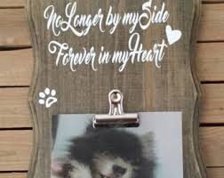 memorial gifts for loss of dog memorial gift etsy