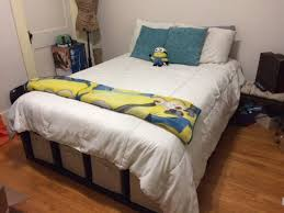 Shelf Bed Frame Shelf Bed Storage 6 Steps With Pictures