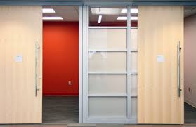 Large Closet Doors Amazing Large Brown Wooden And Forsted Glass Sliding Closet Door