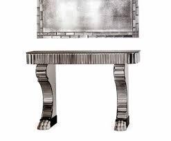 Venetian Mirrored Console Table Glass U0026 Crystal Furniture Design Taylor Llorente