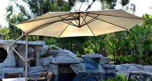 offset patio umbrella u2013 beige 10 u0027 adjustablequality patio