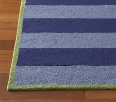 Green Kids Rug Boys U0027 Rugby Stripe Rug Pottery Barn Kids