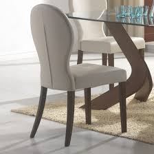 buy classic design grey upholstered dining chairs for your sitting