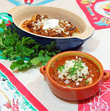 real chili is by itself or on almost anything like