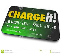 charge it plastic credit card shopping borrow money pay later